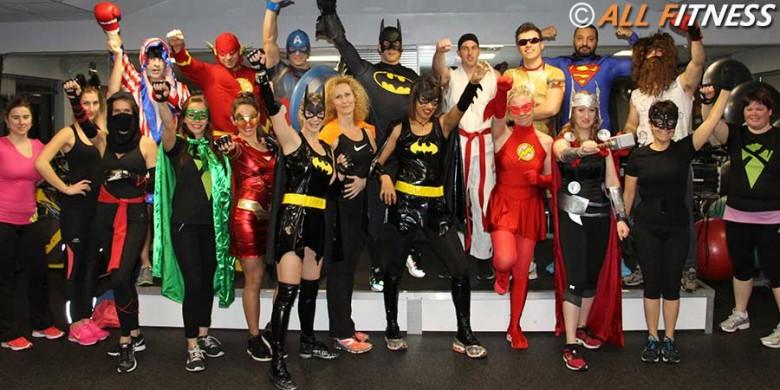 Body Combat thème des super héros.-cover